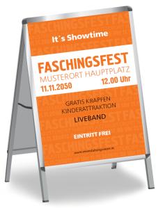 Faschingsfest Colour Orange