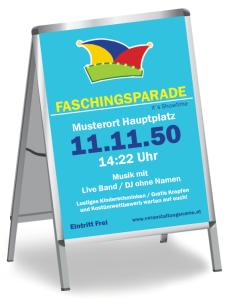 Faschingsfest Karneval Hut Blau
