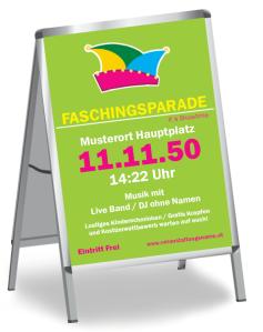 Faschingsfest Karneval Hut Gruen