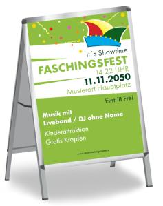 Faschingsfest Konfetti Gruen