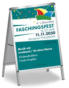 Faschingsfest Konfetti Tuerkis