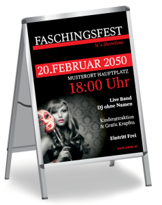 Faschingsfest Miss Carneval Rot