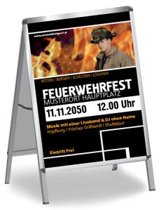 Feuerwehrfest Classico Schwarz