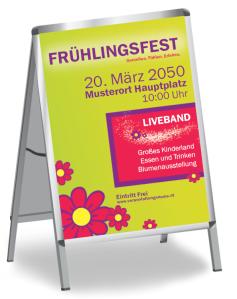 Fruehlingsfest Blumenmeer Gruen