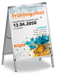 Fruehlingsfest Butterfly Orange