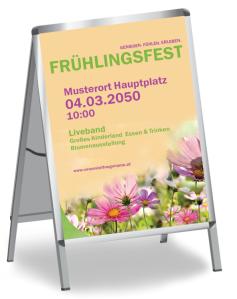 Fruehlingsfest Pflanzenwelt Gruen