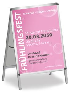 Fruehlingsfest Water Bubbles Rosa