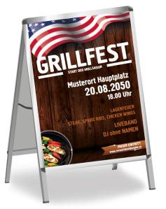 Grillfest American Barbecue Braun