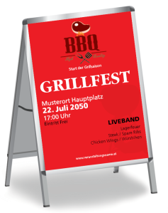 Grillfest Barbecue Party Rot