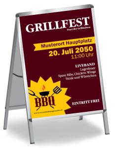 Grillfest BBQ Gelb