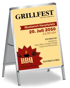 Grillfest BBQ Rot