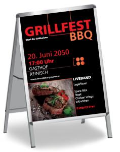 Grillfest Delicious BBQ Steak Rot