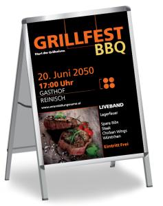 Grillfest Delicous BBQ Steak Gold