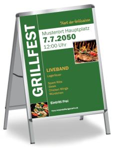 Grillfest Grilling Gruen
