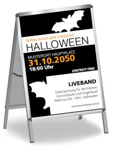 Halloween Party Fledermaus Schwarz