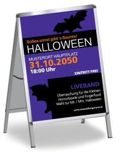 Halloween Party Fledermaus Violett