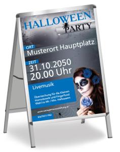 Halloween Party La Cathrina Blau