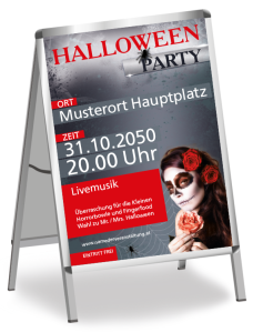 Halloween Party La Cathrina Rot