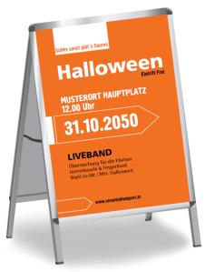 Halloween Party Simple Orange