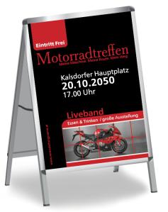 Motorsporevent Biker Meeting Rot