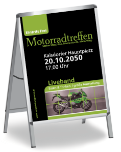 Motorsportevent Biker Meeting Gruen
