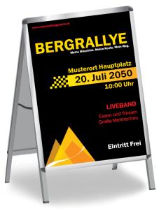 Motorsportevent Mountain Rallye Gelb