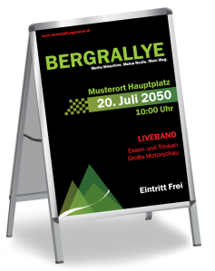 Motorsportevent Mountain Rallye Gruen