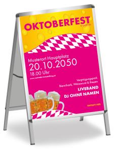 Oktoberfest Festzelt Pink