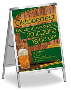 Oktoberfest Zuenftig und Urig Gruen