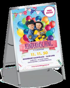 Plakat Faschingsfest Plakate