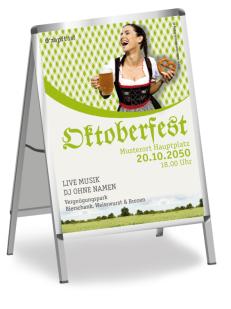 Plakat Kornfeld Gruen