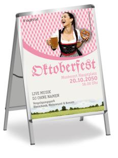 Plakat Kornfeld Rosa