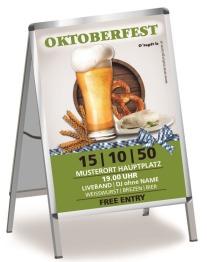 Plakat Oktoberfest Craft Beer A0 Gruen