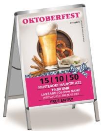 Plakat Oktoberfest Craft Beer A0 Pink