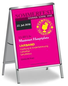 Sommerfest Neon Pink