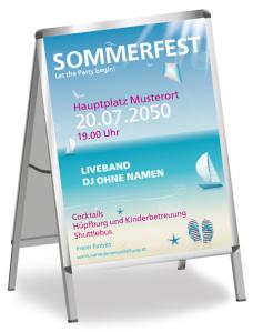 Sommerfest Ostseeküste Pink