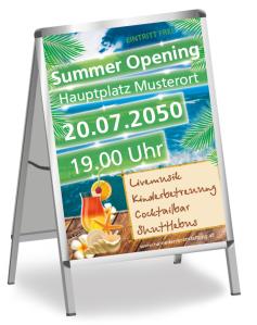 Sommerfest Paradies Gruen