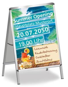 Sommerfest Paradies Tuerkis