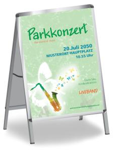 Plakat Musikfest Feeling Gruen