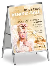 Plakat Ball Pretty Woman Orange