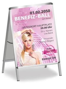 Plakat Ball Pretty Woman Rosa