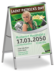 St. Patricks Day Plakat