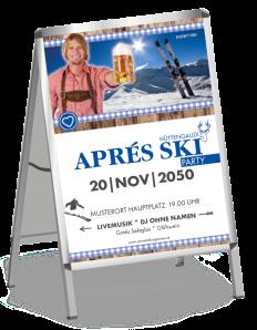 plakat-apres-ski-rustical-party-blau-a0