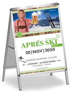 plakat-apres-ski-rustical-party-gruen-a0